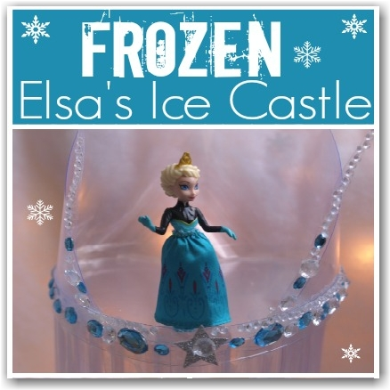 how to draw elsa ice castle easy